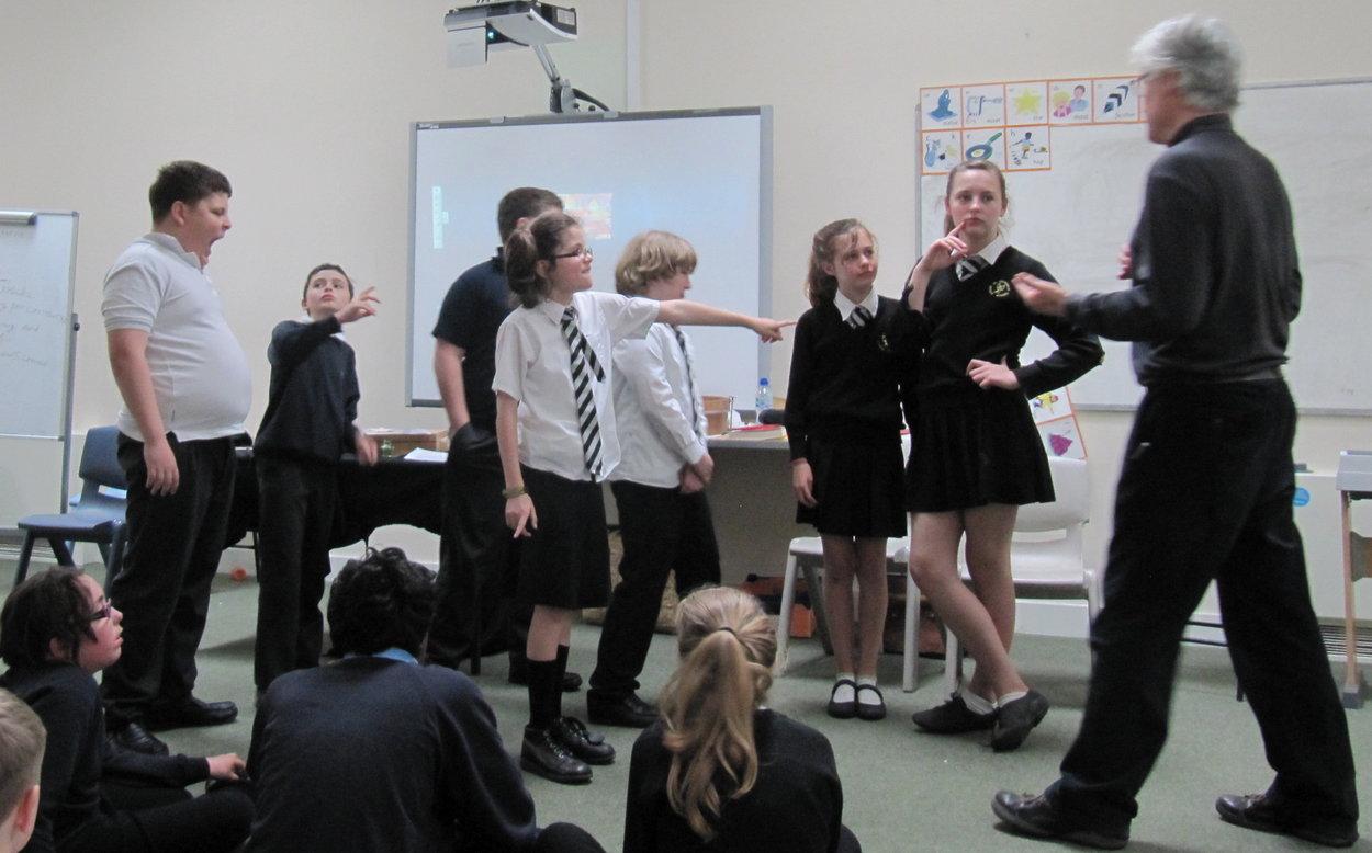 School Drama Clubs perform their work