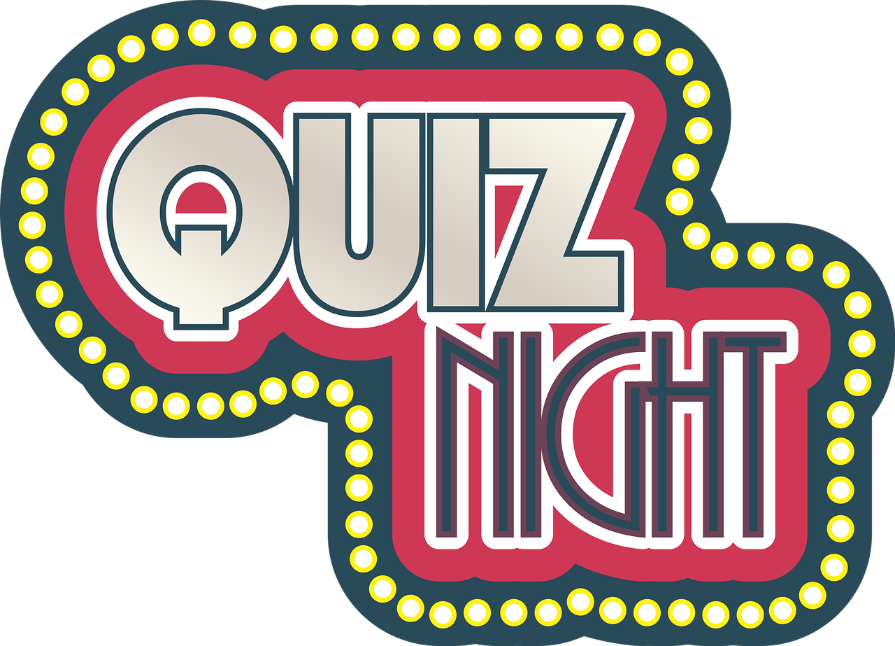 Quiz Night on Wednesday 1st November